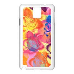 Pop Art Roses Samsung Galaxy Note 3 N9005 Case (white)