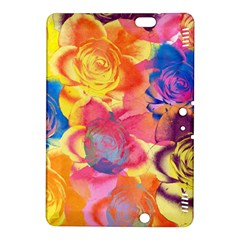 Pop Art Roses Kindle Fire Hdx 8 9  Hardshell Case by DanaeStudio