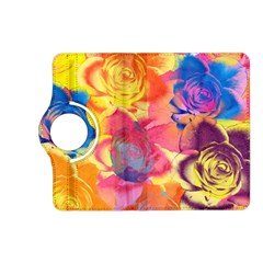 Pop Art Roses Kindle Fire Hd (2013) Flip 360 Case by DanaeStudio