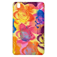 Pop Art Roses Samsung Galaxy Tab Pro 8 4 Hardshell Case by DanaeStudio