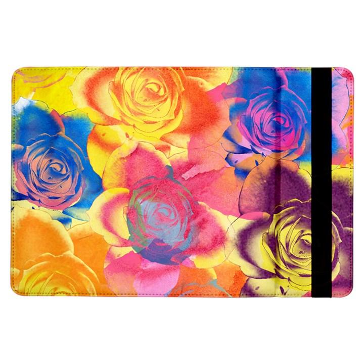 Pop Art Roses iPad Air Flip