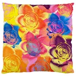 Pop Art Roses Standard Flano Cushion Case (One Side) Front