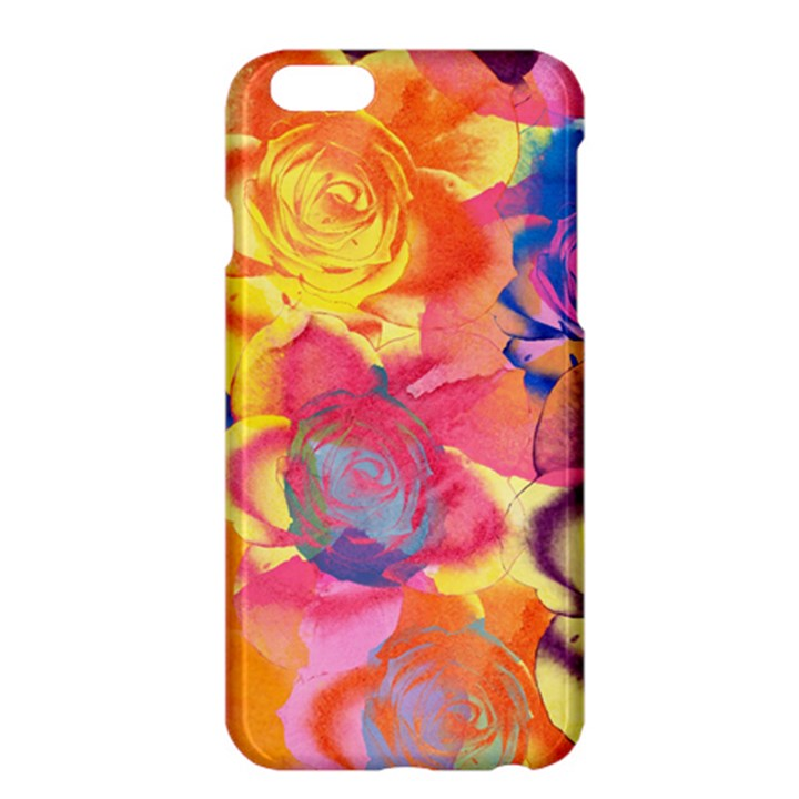 Pop Art Roses Apple iPhone 6 Plus/6S Plus Hardshell Case