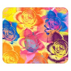 Pop Art Roses Double Sided Flano Blanket (small)  by DanaeStudio