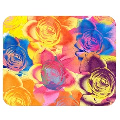 Pop Art Roses Double Sided Flano Blanket (Medium)  by DanaeStudio