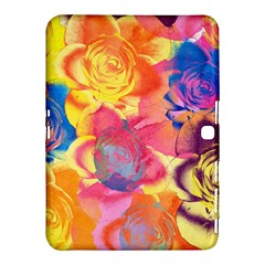 Pop Art Roses Samsung Galaxy Tab 4 (10 1 ) Hardshell Case  by DanaeStudio