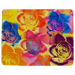 Pop Art Roses Jigsaw Puzzle Photo Stand (rectangular) by DanaeStudio
