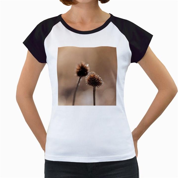 2  Verwelkte Kugeldistel Women s Cap Sleeve T