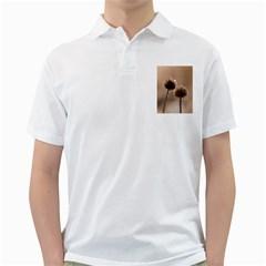 2  Verwelkte Kugeldistel Golf Shirts