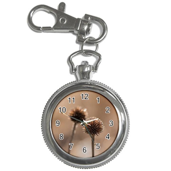 2  Verwelkte Kugeldistel Key Chain Watches