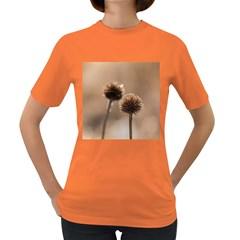 2  Verwelkte Kugeldistel Women s Dark T Shirt