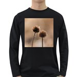2  Verwelkte Kugeldistel Long Sleeve Dark T-Shirts