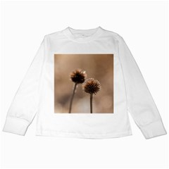 2  Verwelkte Kugeldistel Kids Long Sleeve T Shirts