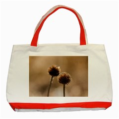 2  Verwelkte Kugeldistel Classic Tote Bag (red)