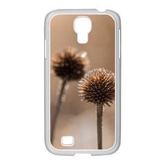 2  Verwelkte Kugeldistel Samsung Galaxy S4 I9500/ I9505 Case (white)