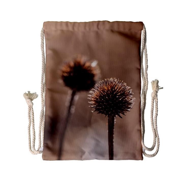 2  Verwelkte Kugeldistel Drawstring Bag (Small)