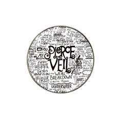 Pierce The Veil Music Band Group Fabric Art Cloth Poster Hat Clip Ball Marker (10 Pack) by Onesevenart