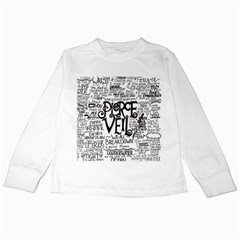 Pierce The Veil Music Band Group Fabric Art Cloth Poster Kids Long Sleeve T Shirts by Onesevenart