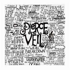 Pierce The Veil Music Band Group Fabric Art Cloth Poster Medium Glasses Cloth (2 Side) by Onesevenart