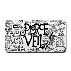 Pierce The Veil Music Band Group Fabric Art Cloth Poster Medium Bar Mats by Onesevenart