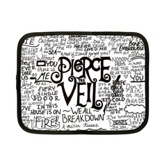 Pierce The Veil Music Band Group Fabric Art Cloth Poster Netbook Case (small)  by Onesevenart