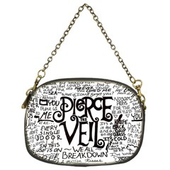 Pierce The Veil Music Band Group Fabric Art Cloth Poster Chain Purses (one Side)  by Onesevenart