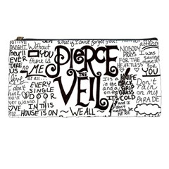 Pierce The Veil Music Band Group Fabric Art Cloth Poster Pencil Cases by Onesevenart