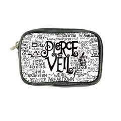 Pierce The Veil Music Band Group Fabric Art Cloth Poster Coin Purse by Onesevenart