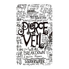 Pierce The Veil Music Band Group Fabric Art Cloth Poster Memory Card Reader by Onesevenart
