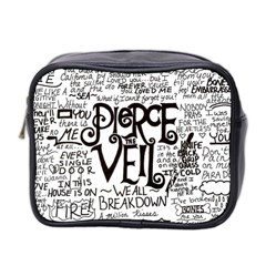 Pierce The Veil Music Band Group Fabric Art Cloth Poster Mini Toiletries Bag 2 Side by Onesevenart