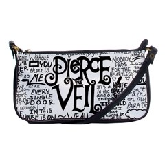 Pierce The Veil Music Band Group Fabric Art Cloth Poster Shoulder Clutch Bags by Onesevenart