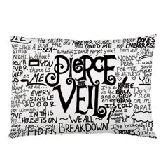 Pierce The Veil Music Band Group Fabric Art Cloth Poster Pillow Case (two Sides) by Onesevenart