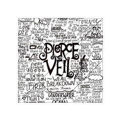 Pierce The Veil Music Band Group Fabric Art Cloth Poster Acrylic Tangram Puzzle (4  X 4 ) by Onesevenart