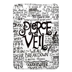 Pierce The Veil Music Band Group Fabric Art Cloth Poster Kindle Fire Hd 8 9  by Onesevenart