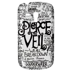 Pierce The Veil Music Band Group Fabric Art Cloth Poster Samsung Galaxy S3 Mini I8190 Hardshell Case by Onesevenart
