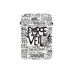 Pierce The Veil Music Band Group Fabric Art Cloth Poster Apple Ipad Mini Protective Soft Cases by Onesevenart