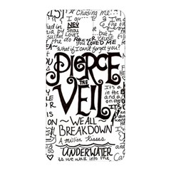 Pierce The Veil Music Band Group Fabric Art Cloth Poster Samsung Galaxy Note 3 N9005 Hardshell Back Case by Onesevenart