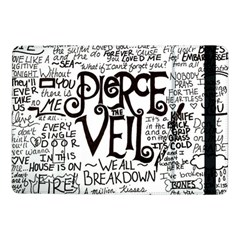 Pierce The Veil Music Band Group Fabric Art Cloth Poster Samsung Galaxy Tab Pro 10 1  Flip Case by Onesevenart