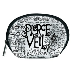 Pierce The Veil Music Band Group Fabric Art Cloth Poster Accessory Pouches (medium)  by Onesevenart