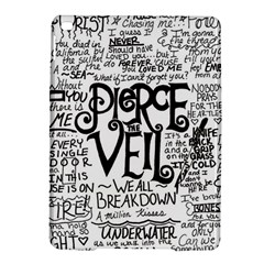 Pierce The Veil Music Band Group Fabric Art Cloth Poster Ipad Air 2 Hardshell Cases by Onesevenart