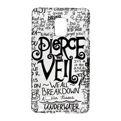 Pierce The Veil Music Band Group Fabric Art Cloth Poster Galaxy Note Edge by Onesevenart