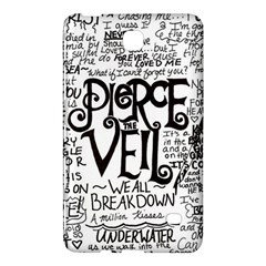Pierce The Veil Music Band Group Fabric Art Cloth Poster Samsung Galaxy Tab 4 (7 ) Hardshell Case  by Onesevenart
