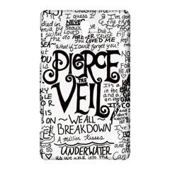 Pierce The Veil Music Band Group Fabric Art Cloth Poster Samsung Galaxy Tab S (8 4 ) Hardshell Case  by Onesevenart
