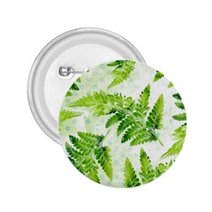 Fern Leaves 2.25  Buttons