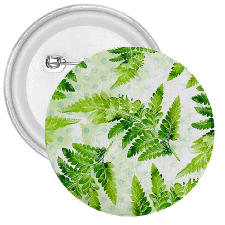 Fern Leaves 3  Buttons