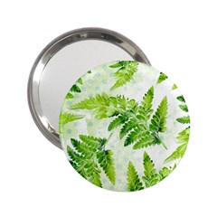 Fern Leaves 2.25  Handbag Mirrors
