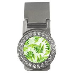 Fern Leaves Money Clips (CZ)
