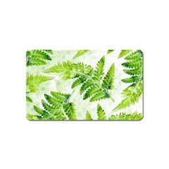 Fern Leaves Magnet (Name Card)