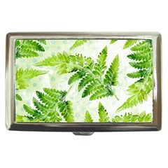 Fern Leaves Cigarette Money Cases by DanaeStudio