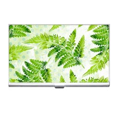 Fern Leaves Business Card Holders